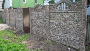 Монтаж еврозабора в Донецке