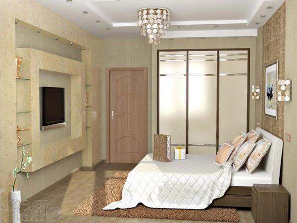 Ремонт под ключ в Донецке спальня
